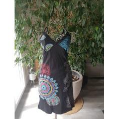 Robe mi-longue Coton Du Monde  pas cher