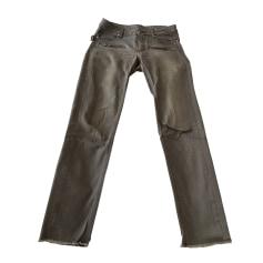 Jeans droit Zadig & Voltaire  pas cher