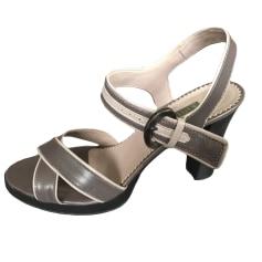 Sandales à talons Apostrophe  pas cher