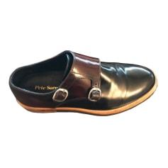 Chaussures à boucles Pete Sorensen  pas cher