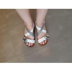 Sandales plates  Bertuchi  pas cher