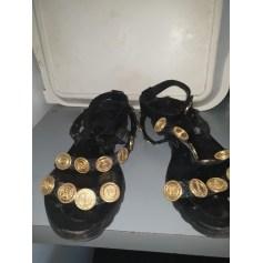 Sandales plates  Kenzo  pas cher