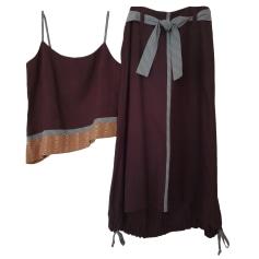 Robe mi-longue One Step  pas cher