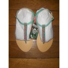 Sandales plates  Hipanema  pas cher