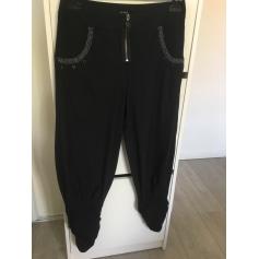 Pantalon carotte Bleu Blanc Rouge  pas cher