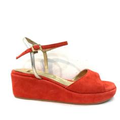 Sandales compensées Nimal  pas cher