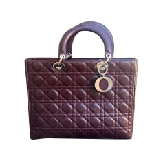 Lederhandtasche Dior LADY DIOR