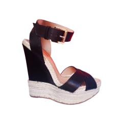 Sandales compensées Dsquared2  pas cher