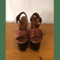 Sandales compensées Isabel Marant Caroll pas cher