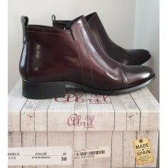 Bottines & low boots à talons Pilar Abril  pas cher