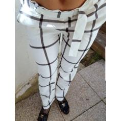 Pantalon droit Kiabi  pas cher