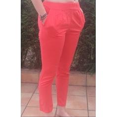 Pantalon carotte Mango  pas cher
