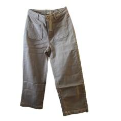 Pantalon droit Des Petits Hauts  pas cher
