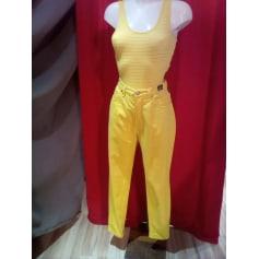 Pantalon large Versace  pas cher