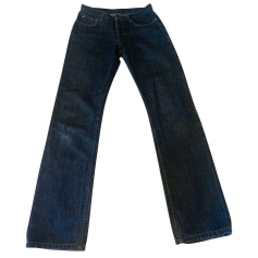 Jeans droit Helmut Lang  pas cher