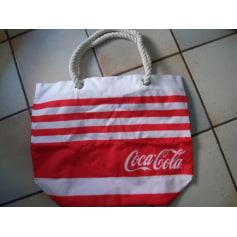 Sac XL en tissu Coca Cola  pas cher