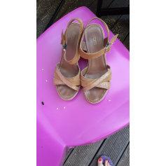 Sandales compensées Eram  pas cher