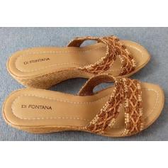 Sandales compensées DI MONTANA  pas cher