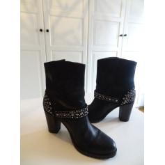 Bottines & low boots à talons Janet & Janet  pas cher