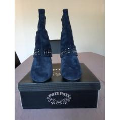Bottines & low boots à talons Poti Pati  pas cher