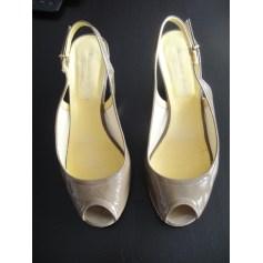 Sandales compensées Elizabeth Stuart  pas cher