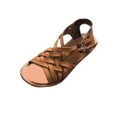 Sandales plates  La Botte Gardiane  pas cher
