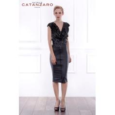 Robe mi-longue Patrice Catanzaro  pas cher