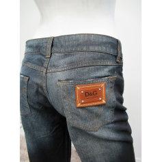 Jeans large, boyfriend D&G  pas cher