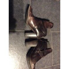 Bottines & low boots à talons G-Star  pas cher