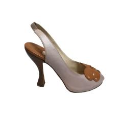Sandales à talons Michel Perry  pas cher