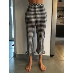 Pantalon droit Topshop  pas cher