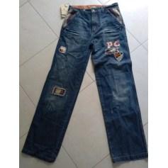 Jeans évasé, boot-cut Pierre Cardin  pas cher