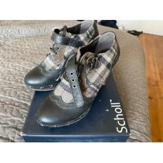 Bottines & low boots à compensés Scholl  pas cher