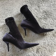 Bottines & low boots à talons Balenciaga Knife pas cher