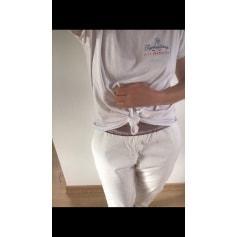 Pantalon droit Handmade  pas cher