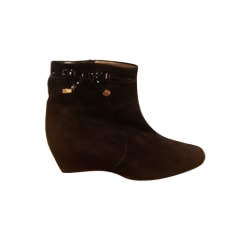 Bottines & low boots à compensés Heyraud  pas cher