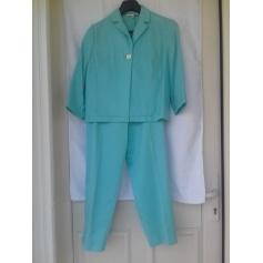 Tailleur pantalon Bleu 123  pas cher