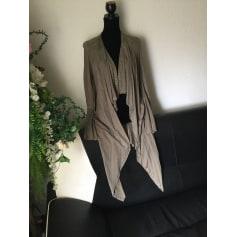 Manteau en cuir Roberto Cavalli  pas cher