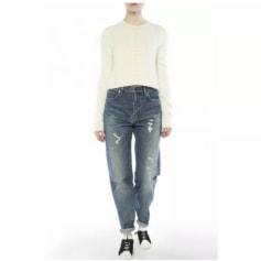 Jeans évasé, boot-cut Yves Saint Laurent  pas cher