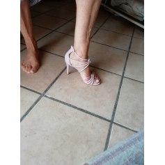 Sandales à talons Sandro  pas cher