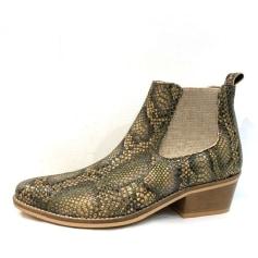 Santiags, bottines, low boots cowboy Minka  pas cher