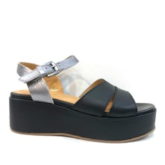 Sandales compensées Minka  pas cher