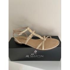 Sandales plates  JB Martin  pas cher