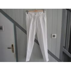 Pantalon droit Biscote  pas cher