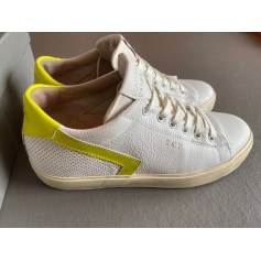 Baskets Leather Crown  pas cher