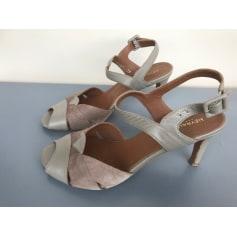 Sandales à talons Heyraud  pas cher