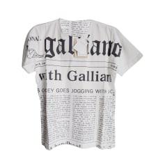 Tee-shirt John Galliano  pas cher