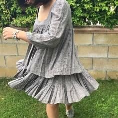 Robe mi-longue Twin-Set Simona Barbieri  pas cher