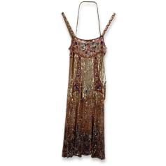 Robe longue Blumarine  pas cher