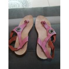 Sandales plates  TBS  pas cher